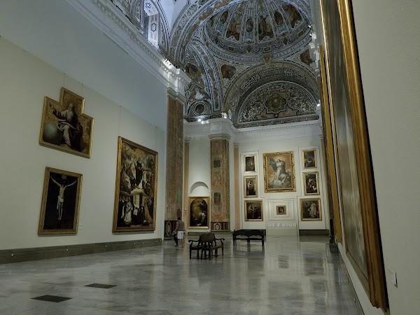 Popular tourist site Seville Museum of Fine Arts in Seville