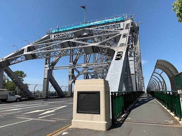 Popular tourist site Story Bridge in Brisbane City