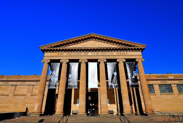 Popular tourist site Art Gallery of New South Wales in Sydney