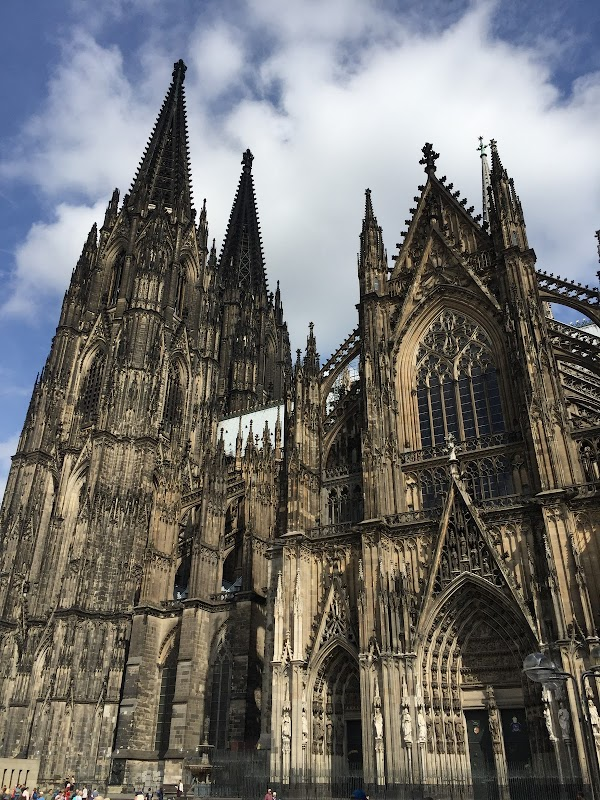 Popular tourist site Cologne Cathedral in Cologne