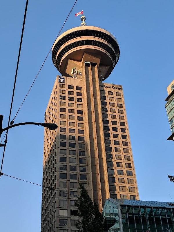 Popular tourist site Vancouver Lookout in Vancouver