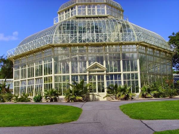 Popular tourist site National Botanic Gardens in Dublin