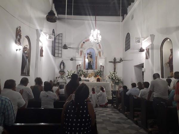 Popular tourist site San Juan de Dios, Marbella in Santa Marta