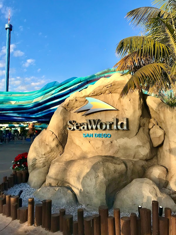 Popular tourist site SeaWorld San Diego in San Diego