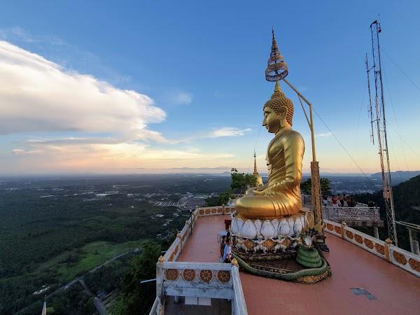 Popular tourist site Wat Tham Seua Krabi in Krabi