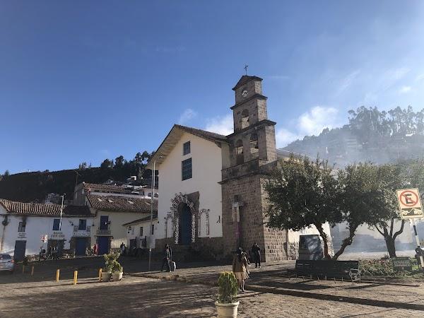 Popular tourist site Templo del San Blas in Cusco