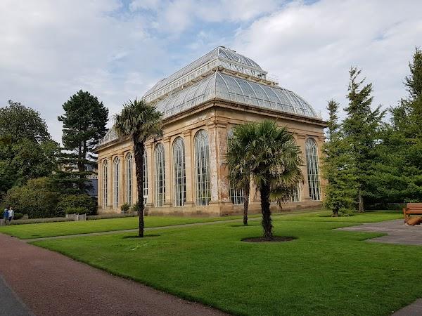 Popular tourist site Royal Botanic Garden Edinburgh in Edinburgh