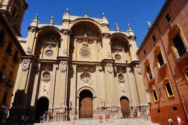Popular tourist site Catedral de Granada in Granada