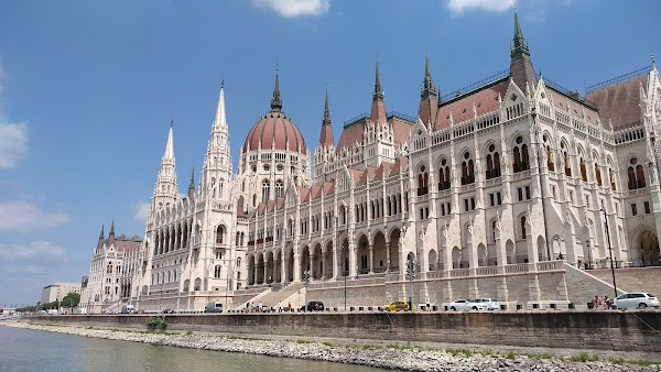 Popular tourist site Hungarian Parliament Building in Budapest