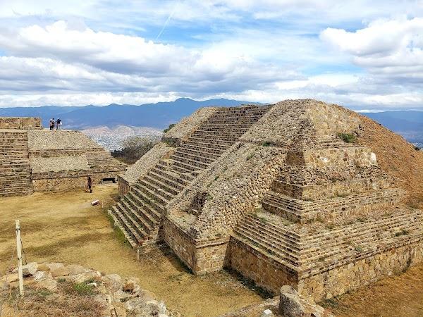 Popular tourist site Museo de sitio de Monte Albán in Oaxaca