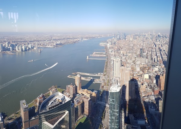 Popular tourist site One World Observatory in New York