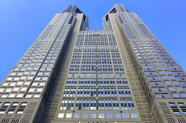 Popular tourist site Tokyo Metropolitan Government Building in Tokyo