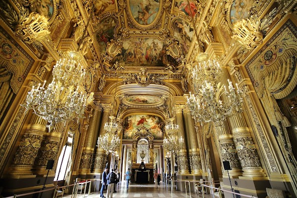 Popular tourist site Palais Garnier in Paris