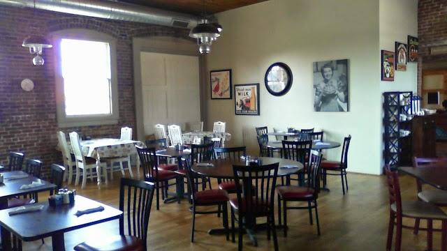 Cafe Audrey at Fort Ben