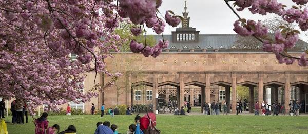 Popular tourist site Grassi Museum in Leipzig