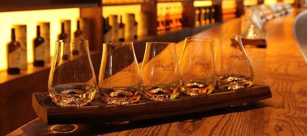 Popular tourist site Irish Whiskey Museum in Dublin