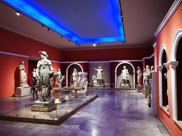 Popular tourist site Antalya Museum in Antalya