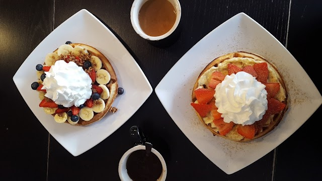 Black Coffee and Waffle Bar