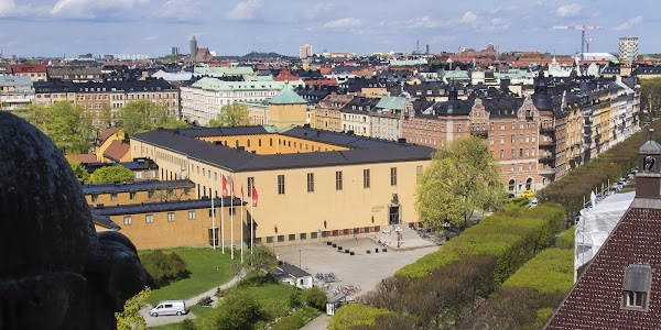 Popular tourist site Swedish History Museum in Stockholm
