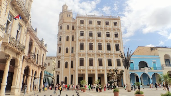 Popular tourist site Cámara Oscura in Havana