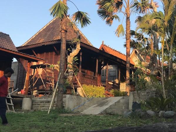 Popular tourist site Kubudiuma Bali in Canggu
