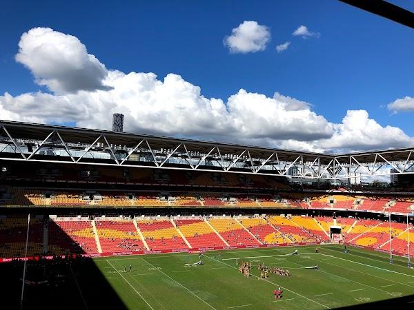 Popular tourist site Suncorp Stadium in Brisbane City