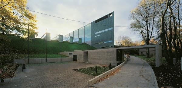 Popular tourist site Eesti Kunstimuuseum in Tallinn