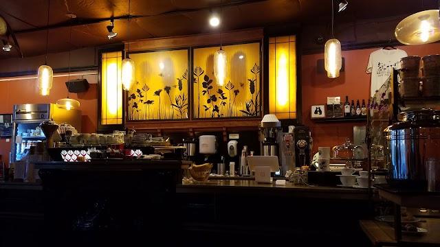 Caffe Fiore banner backdrop
