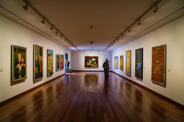 Popular tourist site Museo Botero in Bogota