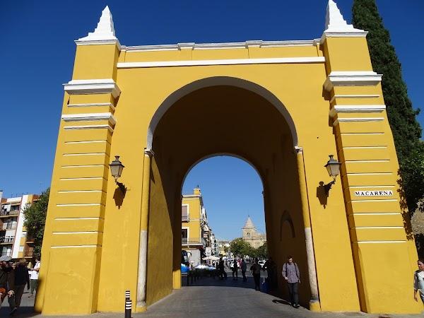 Popular tourist site Basílica de la Macarena in Seville