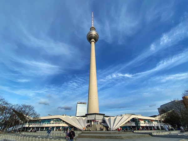 Popular tourist site Berliner Fernsehturm in Berlin