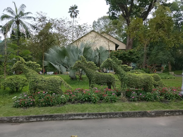 Popular tourist site Saigon Zoo And Botanical Garden in Ho Chi Minh City