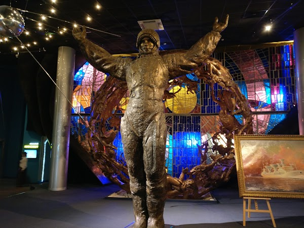 Popular tourist site Museum of Cosmonautics in Moscow