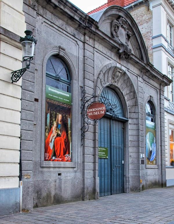 Popular tourist site Groeninge Museum in Bruges