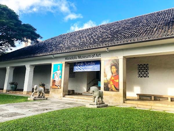 Popular tourist site Honolulu Museum of Art in Honolulu