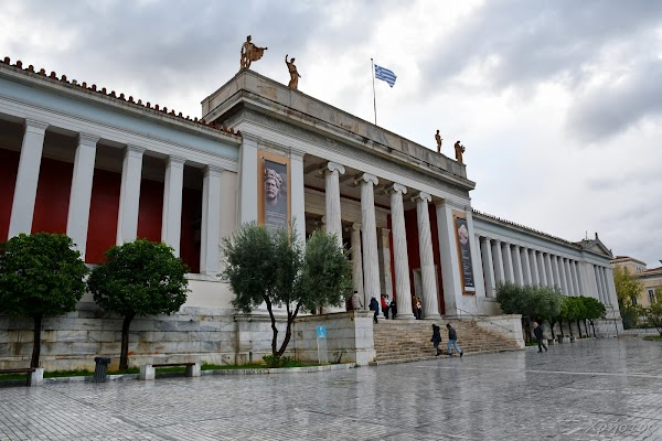 Popular tourist site National Archaeological Museum in Athens