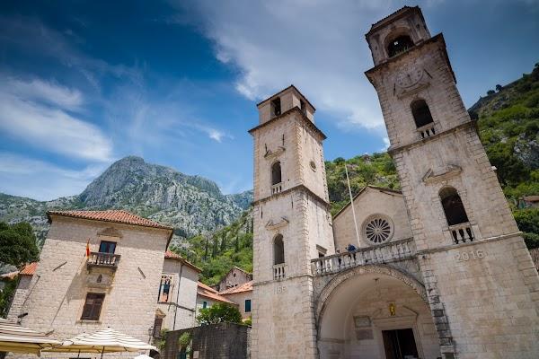 Popular tourist site Katedrala Svetog Tripuna - Cathedral of  in Kotor