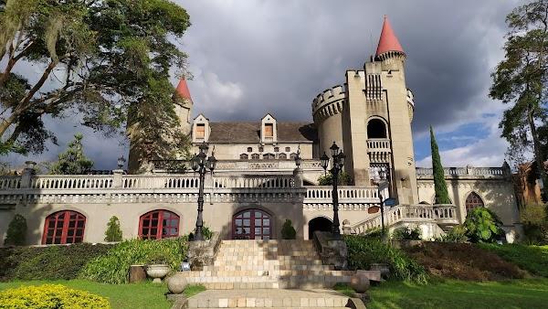 Popular tourist site Castle Museum in Medellin