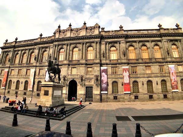 Popular tourist site Museo Nacional De Arte (MUNAL) in Mexico City