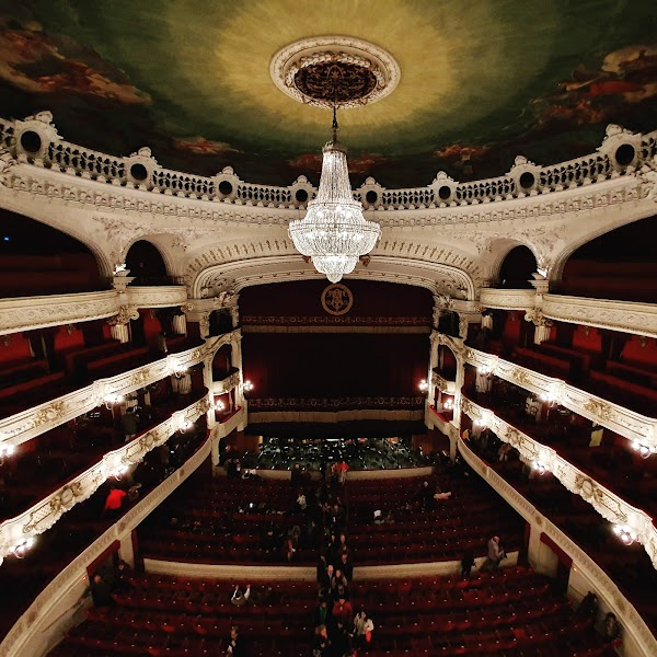 Popular tourist site Municipal Theatre of Santiago in Santiago