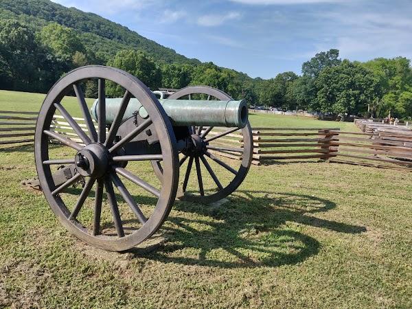 Popular tourist site Kennesaw Mountain National Battlefield P in Villa Rica