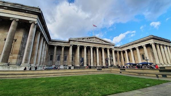 Popular tourist site The British Museum in London
