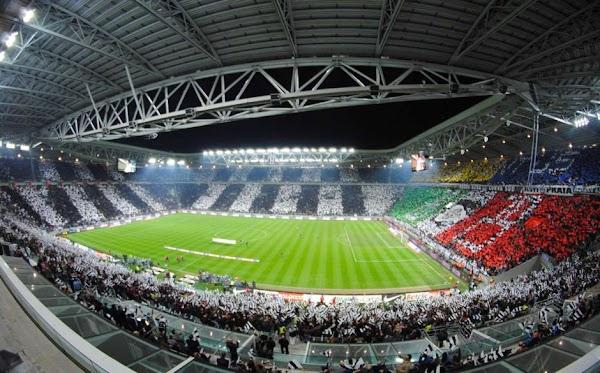 Popular tourist site Allianz Stadium in Turin