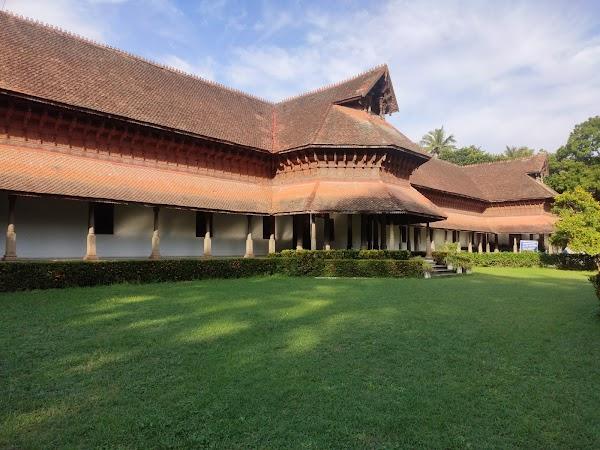 Popular tourist site Kuthira Maliga Palace Museum in Trivandrum