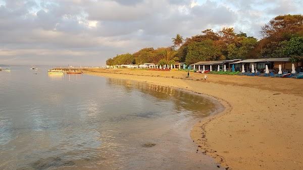 Popular tourist site Pantai Semawang in Denpasar City