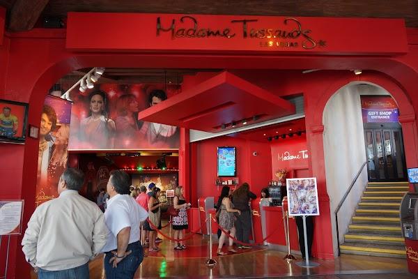 Popular tourist site Madame Tussauds Las Vegas in Las Vegas