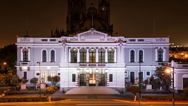 Popular tourist site Museum of the Arts University of Guadala in Guadalajara