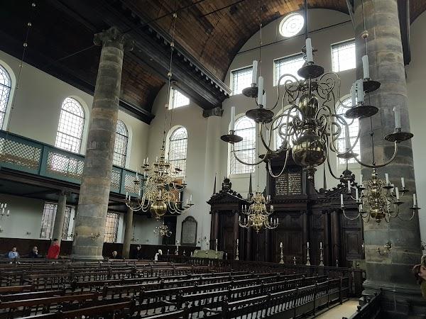 Popular tourist site Portuguese Synagogue of Amsterdam in Amsterdam