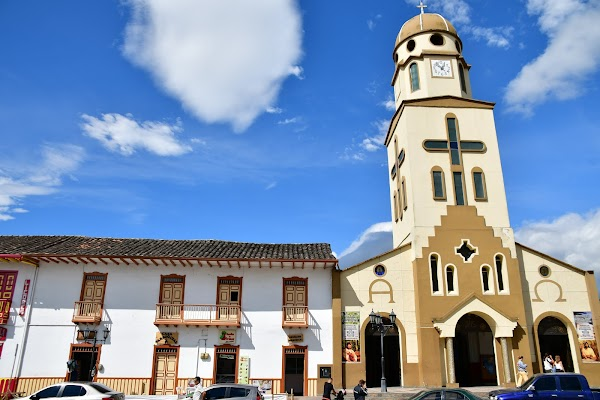 Popular tourist site Our Lady of Carmen in Salento