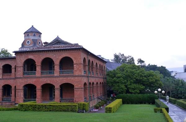 Popular tourist site Fort San Domingo in Taipei